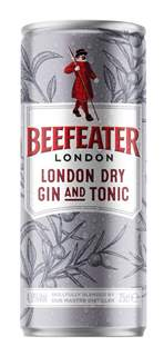 Picture of *GIN BEEFEATER DRY GIN i TONIC  0,25L -12/1-
