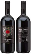 Picture of N-*NERONE MONTE ROSSOMONTEPULCIANO 1.5L SUHO 2016.