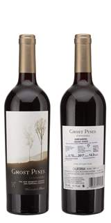 Picture of *ZINFANDEL GHOST PINES 0.75L ZP SUHO 2017 12/1
