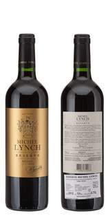 Picture of *RESERVE MEDOC 0.75L MICHEL LYNCH ZOI SUHO 2016 -6/1-