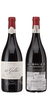 Picture of *PINOTAGE 21 GABLES 0.75L SPIER ZP SUHO 2016 -6/1-