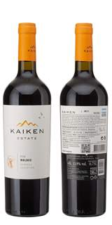 Picture of *MALBEC KAIKEN 0.75L RESERVE ZP SUHO 2018 -6/1-