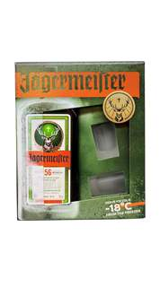 Picture of *JAGERMEISTER GIFT 0.7L+2ČAŠE - 6/1-